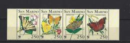 St. Marin: 1328/ 1331 ** - Farfalle