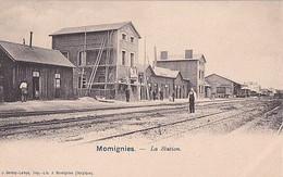 MOMIGNIES         LA  STATION          PRECURSEUR           EN VENTE SUR 5 SEMAINES - Momignies