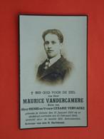 Maurice Vandercamere Geboren Te Geluwe 1913 En Overleden  1941   (2scans) - Religion & Esotérisme