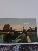 Carte Postale De   WORMS à.rh  HAFENPARTIE - Postkaarten