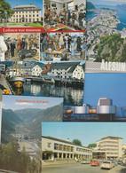 Lot 50 Moderne Ansichtskarten Norwegen - 5 - 99 Cartoline