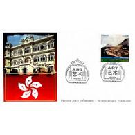 FDC LNF - France - Hong Kong, Château Douglas, Oblit 3/5/12 Paris - 2010-....