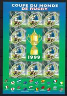 """FRANCE: Bloc De France 1999 """"Coupe Du Monde"""", Neuf** - Sheetlets"""