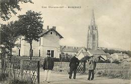 - Charente Maritime -ref-H996- Marennes - Passage à Niveau - Passages à Niveau - Ligne Chemin De Fer - Edit Braun N°2149 - Marennes