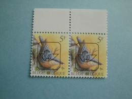 1988 Belgique Oiseaux Yv 2294 Préo ** MNH Mi 2346 Birds  Sc 1224 SG 2849  Definitive - Unused Stamps