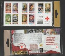 "FRANCE / 2019 / Y&T N° AA 1719/1728 ** En BC Ou BC1719 ** Ou CR2063 ** : ""Croix-Rouge"" Visages 10 TVP LV X 1 Ss Blister - Croix Rouge"