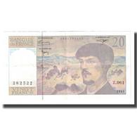 France, 20 Francs, 1997, SUP, Fayette:66 Ter.2, KM:151i - 20 F 1980-1997 ''Debussy''