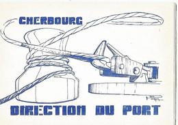 CHERBOURG Carte De Voeux - Cherbourg