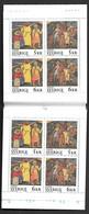 Sweden Europa 1995 MNH Booklet Wood Relief Jesus Socrates Lumumba Albert Schweitzer Walt Witman Author Dove Flower - Europa-CEPT