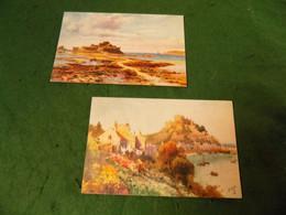 VINTAGE EUROPE UK: CHANNEL ISLANDS - JERSEY X2 Art Wimbush Tuck Oilette - Jersey