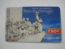 Carte Prépayée Française STARPHONE ( Utilisée ). Pas La Même Monnaie - Frankreich