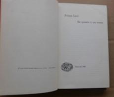 Se Questo è Un Uomo # Primo Levi # G. Einaudi Editore # 1965 - 211 Pagine - Libri, Riviste, Fumetti