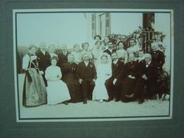 """Ancienne Photo De Mariage à LE LOCLE ( Suisse - Neuchâtel) - Hôtel-Pension """"La Soldanelle"""" - Oud (voor 1900)"""