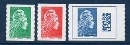 ADHESIF Timbres De Carnet Marianne L'Engagée Yseult YS - LV Prio Europe (2018) Neuf** - 2018-... Marianne L'Engagée