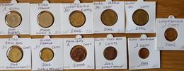 11  Monnaies   EUROS  Avec  Défaut - Other
