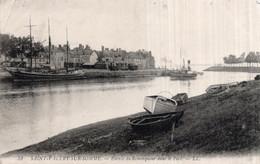 CPA   80   SAINT-VALERY-SUR-SOMME---ENTREE DU REMORQUEUR DANS LE PORT---1908 - Saint Valery Sur Somme