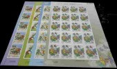 Taiwan 2010 Monkey King Stamps Sheets Book Chess Buddhist Peach Fruit Wine Ginseng Medicine God Costume - Blocks & Sheetlets