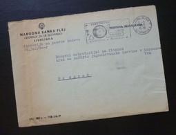 Yugoslavia 1960 Cover Sent From Ljubljana Slovenia To Beograd Serbia  CA31 - Slovenia