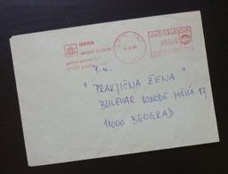 Yugoslavia 1985 Cover Sent From Ljubljana Slovenia To Beograd Serbia  CA32 - Slovenia
