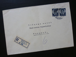 Yugoslavia 1939 Cover Sent From Maribor Slovenia To Beograd Serbia  CA35 - Slovenia