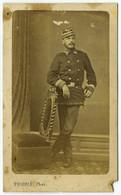 CDV Militaire Guerre De 1870-71 Fourié à Bordeaux . Mobile Du Lot (voir Képi) . - Old (before 1900)