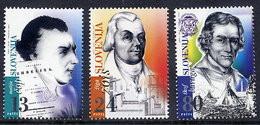 SLOVENIA 1997 Famous Slovenes  MNH / **.  Michel 190-92 - Slovenia