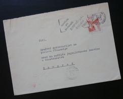 Yugoslavia 1959 Cover Sent From Ljubljana Slovenia To Beograd Serbia  CA42 - Slovenia