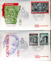 1970 SMOM FDC 62/64 Natale - Malta (Orden Von)