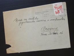 Yugoslavia 1960 Cover Sent From Celje Slovenia To Beograd Serbia  CA49 - Slovenia