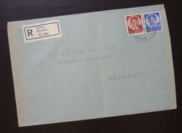 Yugoslavia Cover Sent From Fuzine Croatia To Beograd Serbia  CA51 - Slovenia