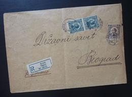 Yugoslavia 1924 Cover Sent From Kranj Slovenia To Beograd Serbia  CA52 - Slovenia