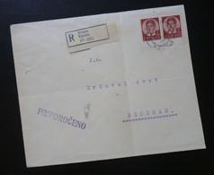 Yugoslavia Cover Sent From Kropa Slovenia To Beograd Serbia  CA53 - Slovenia