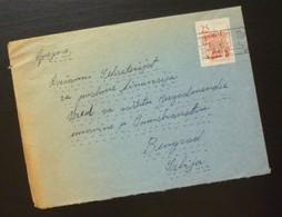 Yugoslavia Cover Sent From Maribor Slovenia To Beograd Serbia  CA55 - Slovenia