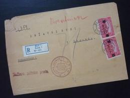 Yugoslavia 1924 Cover Sent From Bled Slovenia To Beograd Serbia  CA56 - Slovenia