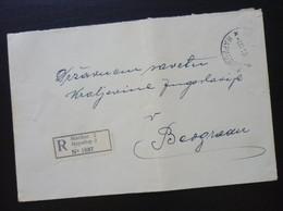 Yugoslavia 1939 Cover Sent From Maribor Slovenia To Beograd Serbia  CA59 - Slovenia