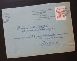Yugoslavia 1960 Cover Sent From Maribor Slovenia To Beograd Serbia  CA61 - Slovenia