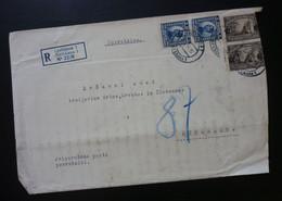 Yugoslavia 1924 Cover Sent From Ljubljana Slovenia To Beograd Serbia  CA63 - Slovenia