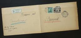 Yugoslavia 1924 Cover Sent From Ljubljana Slovenia To Beograd Serbia  CA68 - Slovenia