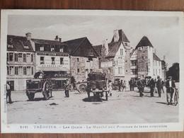 Tréguier.les Quais.le Marché Aux Pommes De Terre Nouvelles.édition Hamonic 9181 - Tréguier
