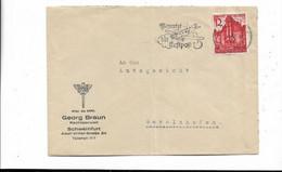 Brief Aus Schweinfurt 1939 - Cartas
