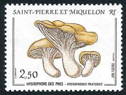ST-PIERRE ET MIQUELON 1987 - Yv. 475 **   Faciale= 0,38 EUR - Champignon Hygrophore Des Prés  ..Réf.SPM11870 - Unused Stamps