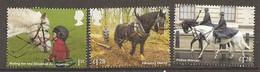 Grande-Bretagne Great Britain 201- Chevaux Horses Obl - 1952-.... (Elizabeth II)