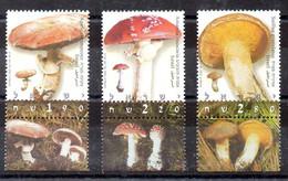 Israel Serie Nº Yvert 1607/09 ** SETAS (MUSHROOM) - Unused Stamps (with Tabs)