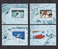 NIGER 1991, Mi# 1122-1125, Deluxe, Imperf, Olympics, MNH - Inverno1992: Albertville