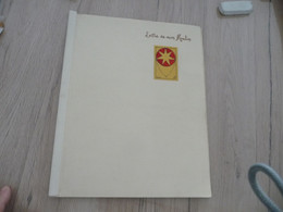 Occitan Félibre Mouvement Mistral Lettre De Mon Moulin Exemplaire Manuscrit Dédicace De L'auteur à Déchiffrer + Dessin - Poetry