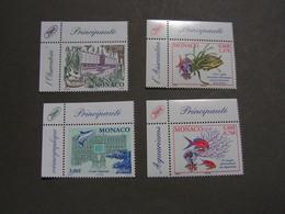 Monaco   Lot  ** MNH Frankatur , Postgültige Marken  EUR 3,38 - Colecciones & Series