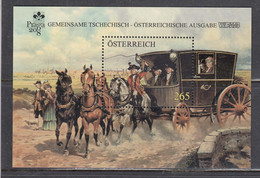 Austria 2008 - WIPA'08 Und PRAGA'08, Mi-Nr. Bl. 45, MNH** - 2001-10 Unused Stamps