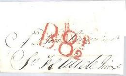 ENVUELTA    MARCA ORTEO  B 8  2 - ...-1850 Prephilately