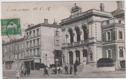 TARN - 7 - ALBI - Le Théatre  ( - Timbre à Date De 1912 ) - Albi