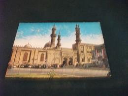 MOSCHEA LA MOSQUEE MOSQUE CAIRO D'EL AZHAR EGITTO UAR ABRASIONE ANTERIORE - Islam